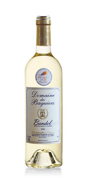 Vin de Bandol blanc  - Domaine des Baguiers