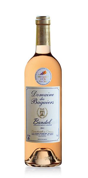Vin de Bandol rosé  - Domaine des Baguiers
