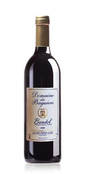 Vin de Bandol rouge  - Domaine des Baguiers
