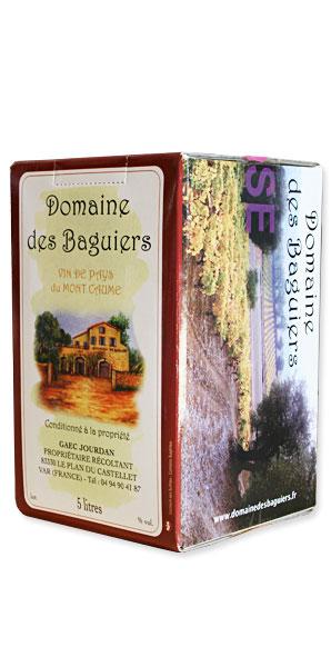 Vin de Pays du Mont Caume  - Domaine des Baguiers
